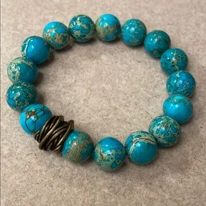 Emperor Jasper - Arm Candy Stretch Bracelet